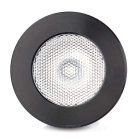 iSUNROAD E27 4W 200lm LED Music Control Color Changing Light w/ Remote - Black + White (110~240V)