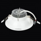 9W 630lm 6500K 9-5050 SMD LED Round Ceiling Lamp (AC 100~240V)