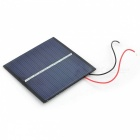 SW-008 0.8W Solar Powered Battery Panel Board - Black