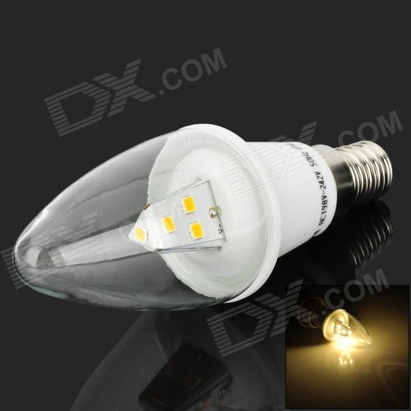 Cnlight E14 3W 220lm 3500K 10 x SMD 2835 LED Candle Light for Crystal Lamp (198~242V) чехол для samsung galaxy auzer gsgs 5 m tpu