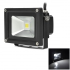 Geming 10W 550lm 7500K White Integrated LED Floodlight (85~265V / 3-Flat-Pin Plug)