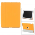 Stylish Ultrathin Protective PU Leather + TPU Smart Case for iPad 2 / 3 / 4 - Orange