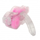 Coolchange PVC Bicycle Chain Cleaner - Translucent + Pink