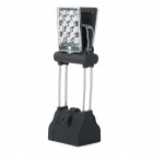 Multi-Funktions-G4 20lm 8500K Dual Side Folding & Rotation 30-LED Camping Light - Schwarz + Silber
