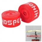 "WindSpeed 26"" Bicycle Bick Cycle Nylon Rim Tape - Red (2 PCS)"