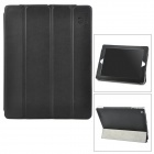 WESENS Protective Genuine Leather + Advanced Fiber Case for Ipad 2 / 3 / 4 - Black