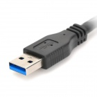 High Speed USB 3.0 Male to Female Extender Cable - Black (1.5m)