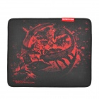 E-3LUE Team Scorpion G-Reaver Professional Game Anti-Slip Mouse Pad - Black + Red
