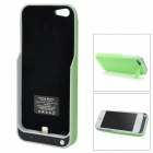 "External ""2200mAh"" Power Battery Charger Case w / Indicator Light / Stand für iPhone 5 - Grün"