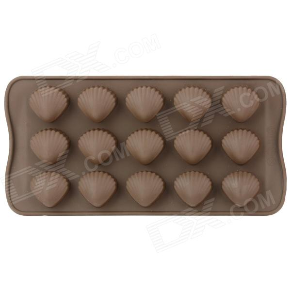 Silicone Shell Style Mould for Making Chocolate / Cake / Ice - Coffee