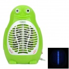 002 Frog Style Mosquito Insects Bugs Killer w/ LED Light - Green + White