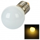E27 1,5 W 120lm 3000K 3528 LED Warm White Light Bulb - Silber + Weiß
