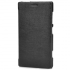 PUDINI Fashion Flip-Open Style PU Leather Case for Nokia Lumia 720 - Black