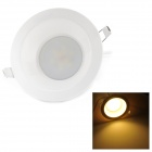 JZ-11W 770lm 3000K Warm White Light Round Shape Ceiling Lamp - White (42CM-Cable)