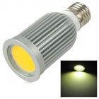 Sencart E27 9W 3500K 390lm COB LED Warm White Light Spotlight - Silber (95 ~ 265V)