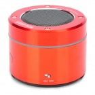 XA-A19 Multi-Functional aufladbarer Media Player Speaker w / TF / FM - Rot + Silber + Schwarz