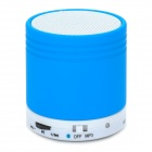 JLJ-NW-N30 Bluetooth v4.0 Bass 2.1-Channel Speaker w/ TF - Blue + White
