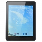 "8002 8"" Quad Core Android 4.2.2 Tablet PC w/ 1GB RAM / 8GB ROM / HDMI / G-Sensor - Silver + Black"