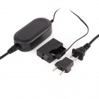 AC Power Adapter Charger ACK-E8 for Canon EOS 550D + 600D + 650D + More - Black