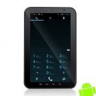 "Freelander PD10-Typhoon 7"" Capacitive Screen Android 4.0 Tablet PC w/ GPS + Wi-Fi - Black + Silver"