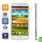 "iNew i7000 Quad-Core Android 4.2 WCDMA Bar Phone w/ 5.0"" HD IPS, 1GB RAM, 16GB ROM, GPS - White"