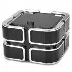 AC-810 Convenient PBT Ash Tray for Car - Black