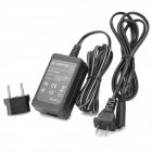 AC Power Adapter Charger AC-L200 for Sony Camera DCR-HC16E + DCR-HC85 + More - Black