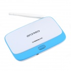 CHEERLINK Quad-Core Android 4.2 1080p Google TV Player Mini PC w/ 1GB RAM / 8GB ROM - Blue + White