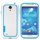 BASEUS Protective Silicone Bumper Frame for Samsung Galaxy S4 / i9500 - Blue + White