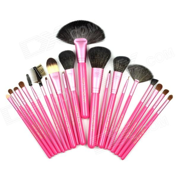 MAQUILLAJE PARA USTED cosmético profesional del maquillaje Brushes Set - Rosa (20 PCS)
