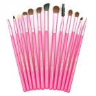 MAKE-UP FOR YOU Professional Cosmetic Makeup Brushes Set - Pink (20 PCS)