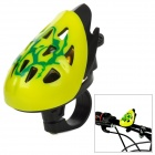 Stylish Novel Helmet Style Bell for Bicycle - Yellow + Black