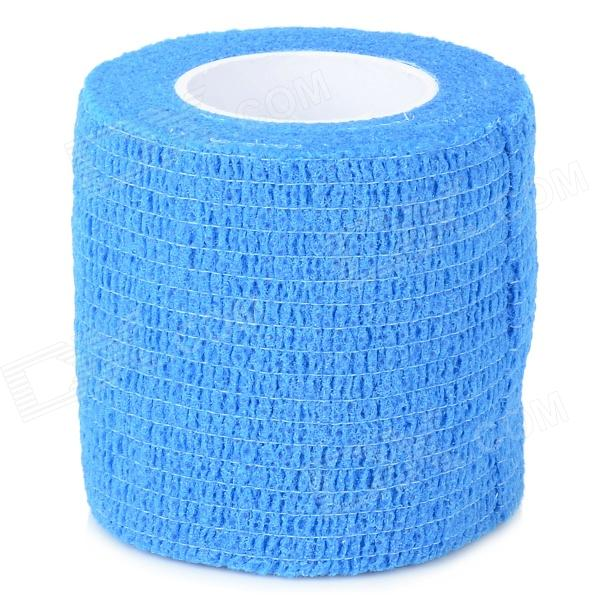 Medical Non Woven Self Adhesive Bandage - Blue (2m)