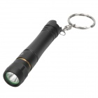 Brinyte B7E Mini 95lm White Flashlight w/ Cree XP-G R5, Keychain - Black (1 x AAA)