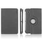 ENKAY ENK-7010 Cowboy Pattern Protective PU Leather Case for Samsung Galaxy P3100 / P3110 - Grey