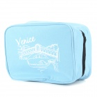 SN001 Travel Camping Leisure Oxford Fabric Makeup Wash Bag - Blue