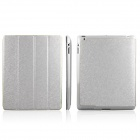 ENKAY ENK-3137 Protective PU Leather Case for iPad 2 / 4 / the New iPad - White