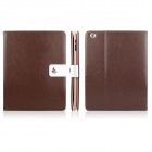 ENKAY ENK-3136 Crazy Horse Texture PU Leather Case Stand for Ipad 2 / 3 / 4 - Brown