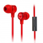 SOMiC MH403i In-Ear-Ohrhörer w / Mikrofon für iPad / iPhone / HTC / Samsung - Rot (3,5 mm Klinkenstecker)
