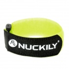 NUCKILY H649 Multifunctional Adustable Velcro Fixing Band / Strap for Bicycle - Yellow + Black