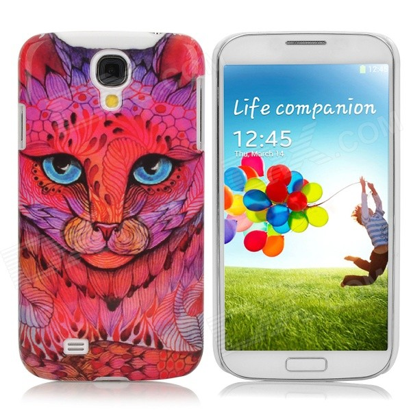 Fashion Leopard Pattern Protective Plastic Back Case for Samsung Galaxy S4 / i9500 - Multicolor protective cute spots pattern back case for samsung galaxy s4 i9500 multicolored