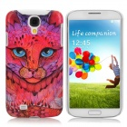 Fashion Leopard Pattern Protective Plastic Back Case for Samsung Galaxy S4 / i9500 - Multicolor