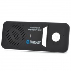 Dual Standby Multi-Point Bluetooth v3.0 + EDR Speakerphone Supports Hands-Free - Black + Silver
