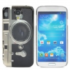 Retro Camera Style Back Case for Galaxy S4 i9500 - Black