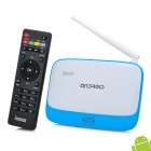 Jesurun DX05 Quad-Core Android 4.2.2 Mini-PC Google TV Player w / 2GB RAM / 8GB ROM / RJ45 / US-Stecker