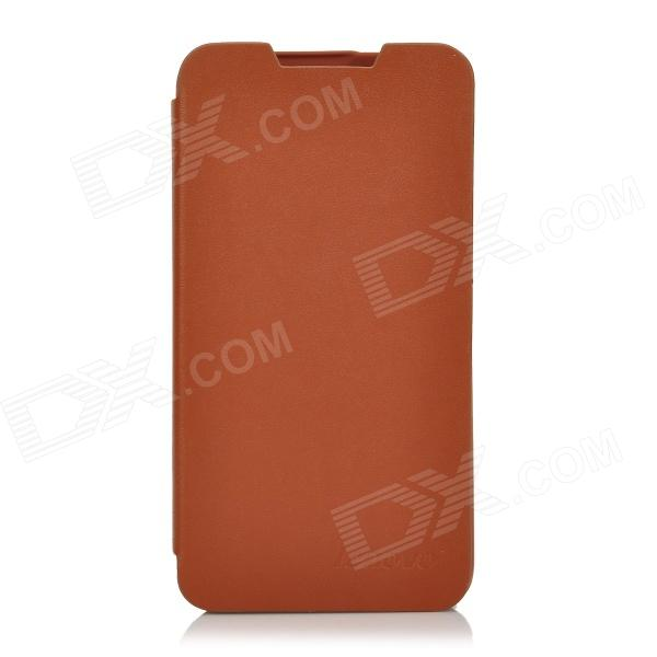 Lenovo Protective PU Leather + Plastic Flip-Open Cover Case for Lenowo P770 - Brown iocean top flip open protective pu leather case cover for x7 brown