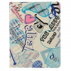 ENKAY ENK-3128 British Style Love Heart Pattern PU Leather Case for Ipad 2 / 3 / 4