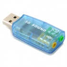 Virtual 5.1 - Surround USB 2.0 placa de som externa