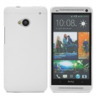 Protective Soft Silicone Back Case for HTC One M7 - White