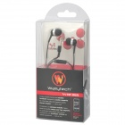 wallytech WHF-065 in-ear kuuloke w / mikrofoni iPhone / Samsung